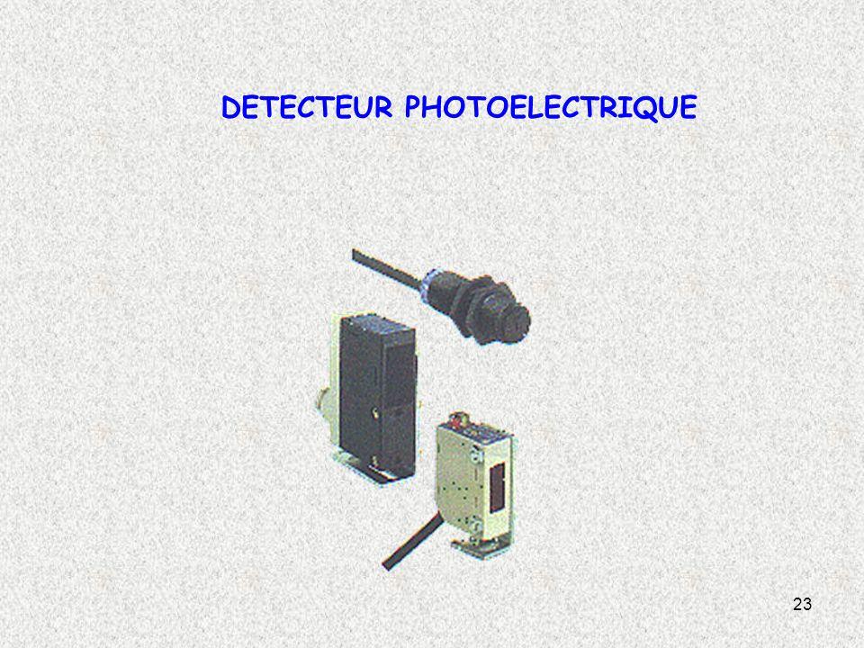 23 DETECTEUR PHOTOELECTRIQUE