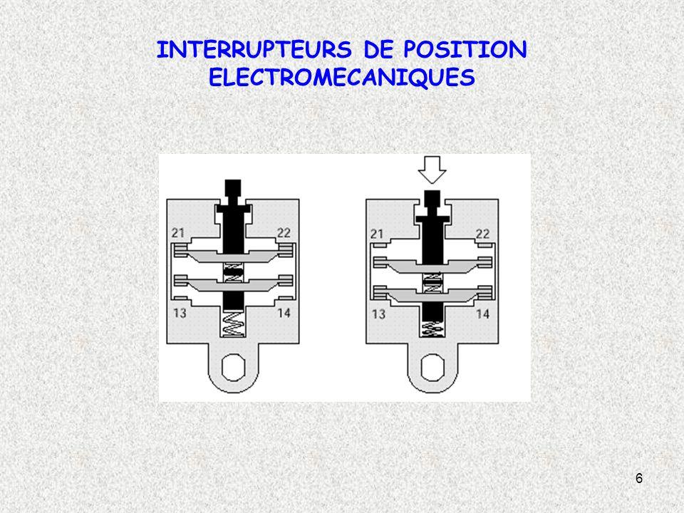 27 DETECTEUR PHOTOELECTRIQUE SYSTEME BARRAGE Principe de fonctionnement: Un détecteur de type barrage est composé d un émetteur de lumière associé à un récepteur photosensible.