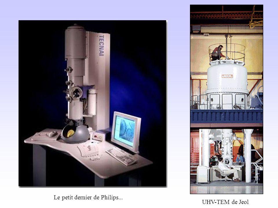 UHV-TEM de Jeol Le petit dernier de Philips...