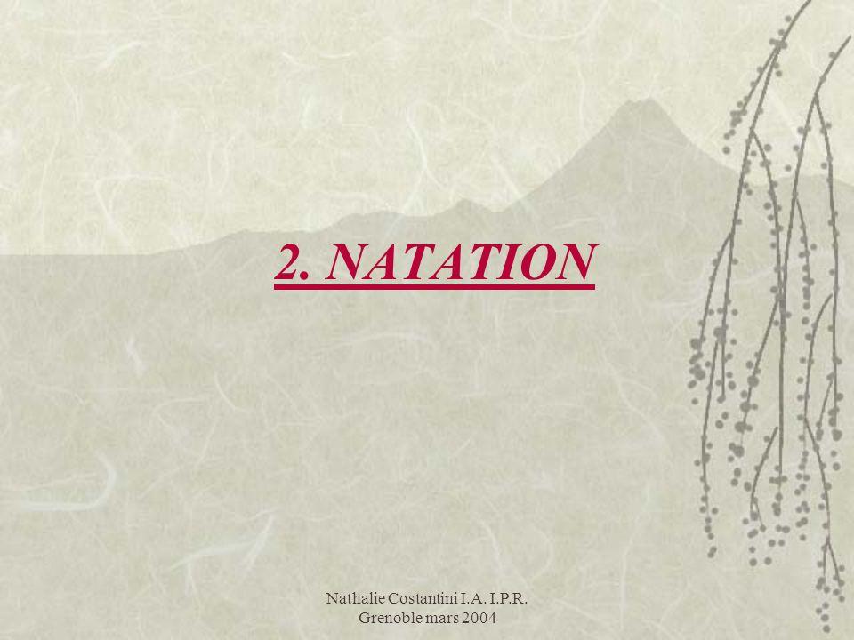 2. NATATION