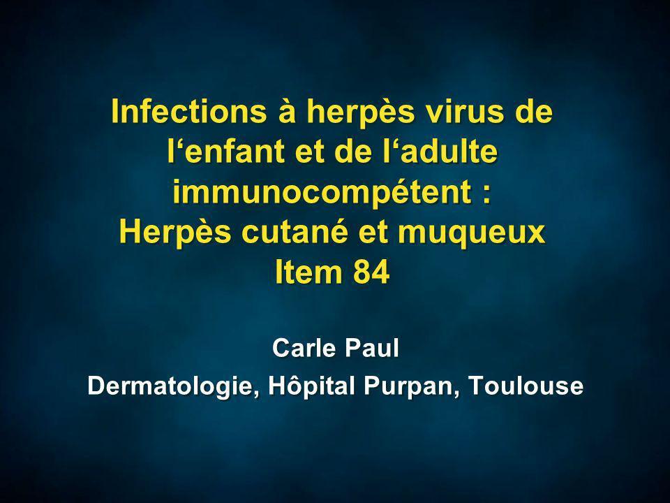 Diagnostic direct Culture virale : méthode de référence : inoculation sur cultures cellulaires, observation de leffet cytopathogène en 2 à 3 jours.