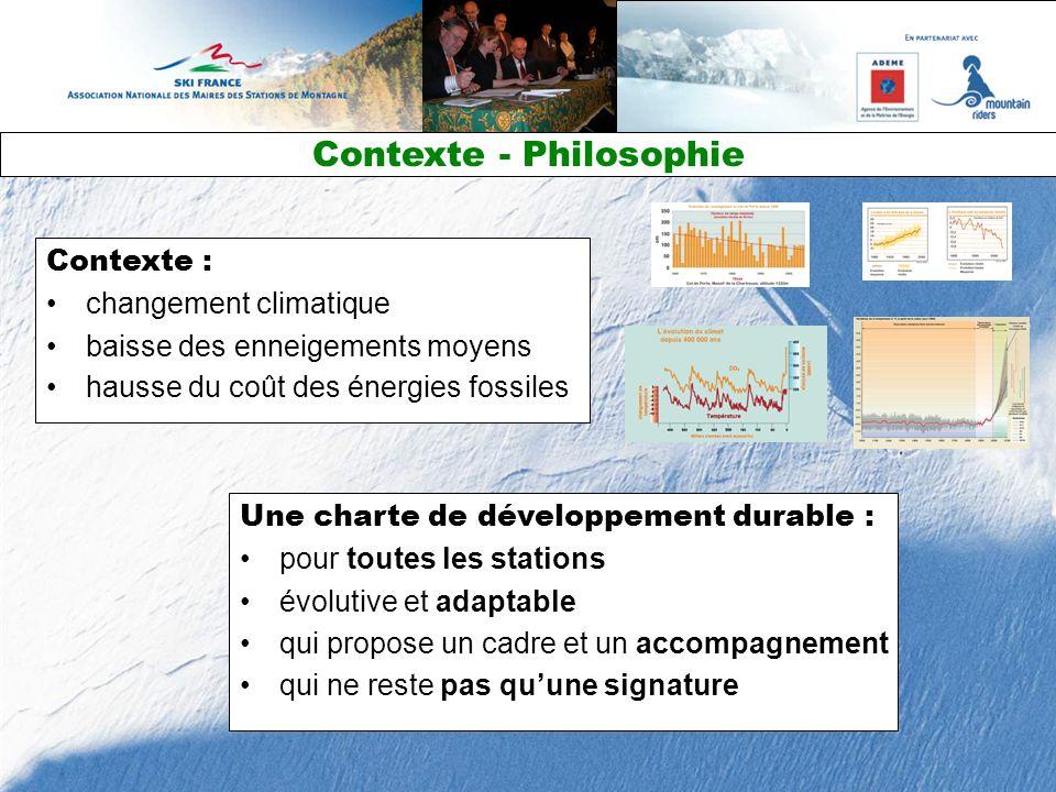 Une charte de développement durable : pour toutes les stations évolutive et adaptable qui propose un cadre et un accompagnement qui ne reste pas quune