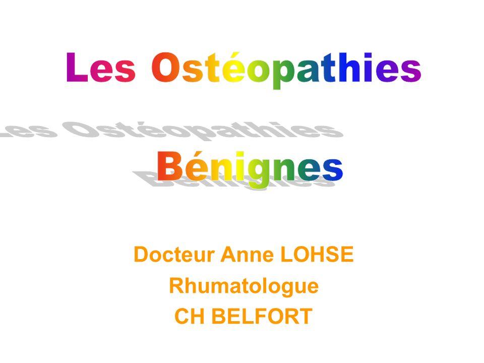 Docteur Anne LOHSE Rhumatologue CH BELFORT