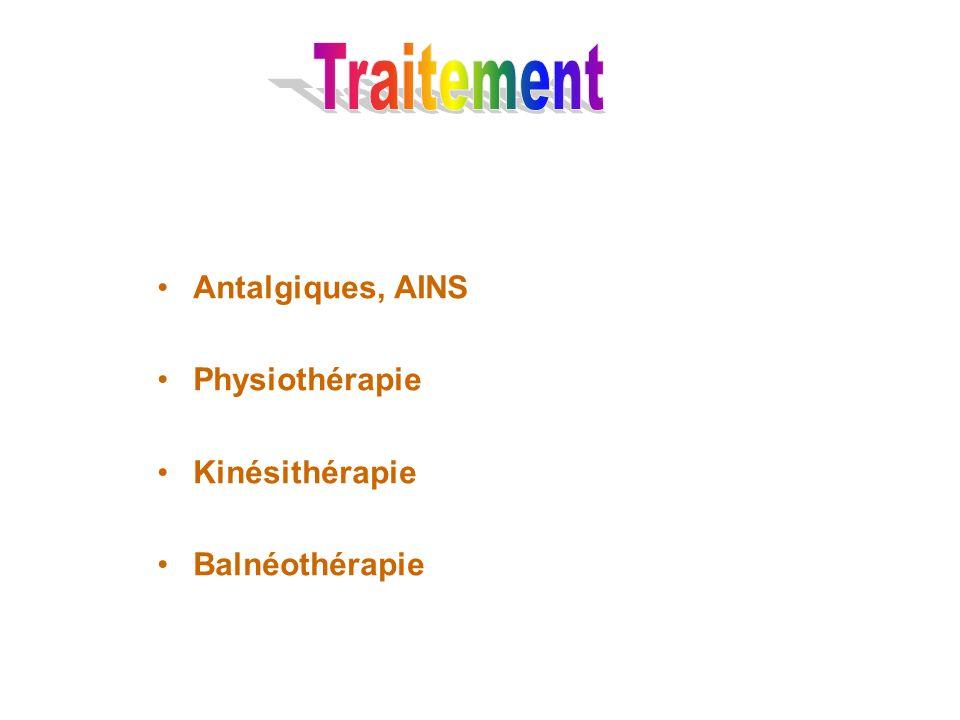 Antalgiques, AINS Physiothérapie Kinésithérapie Balnéothérapie