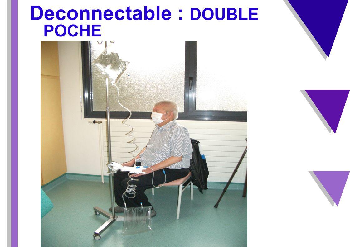 cours DP - Greffe rénale Deconnectable : DOUBLE POCHE