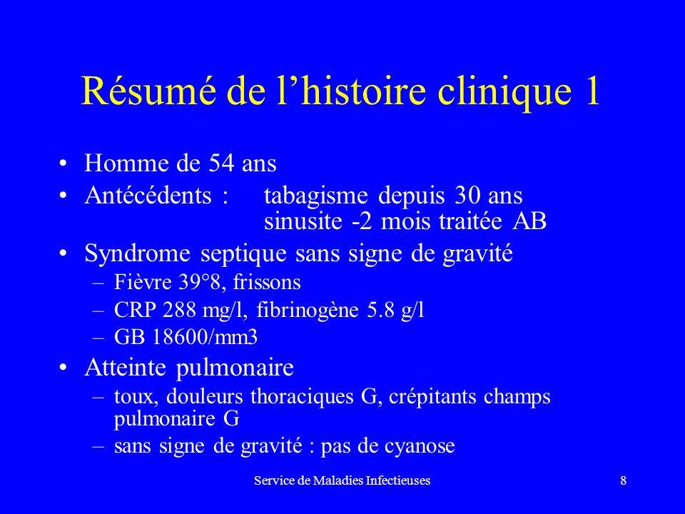 Service de Maladies Infectieuses19