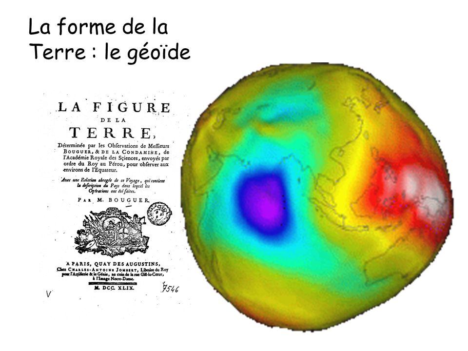 La forme de la Terre : le géoïde