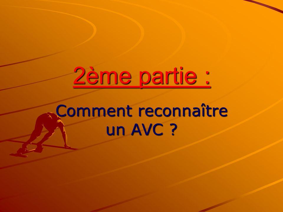 2ème partie : Comment reconnaître un AVC ?