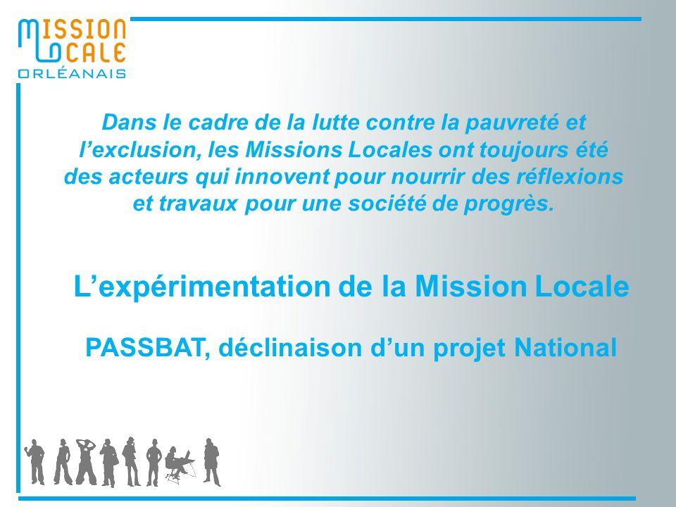 Dans le cadre de la lutte contre la pauvreté et lexclusion, les Missions Locales ont toujours été des acteurs qui innovent pour nourrir des réflexions et travaux pour une société de progrès.