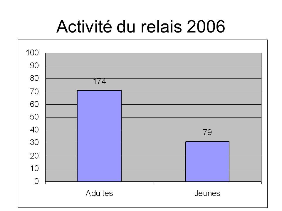 Activité du relais 2006