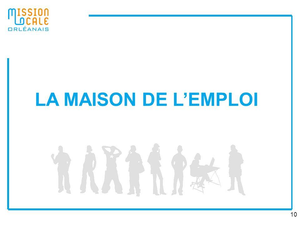 10 LA MAISON DE LEMPLOI