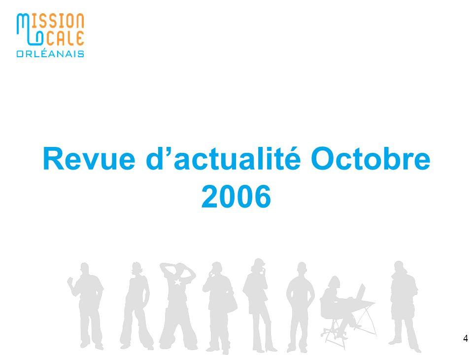 4 Revue dactualité Octobre 2006