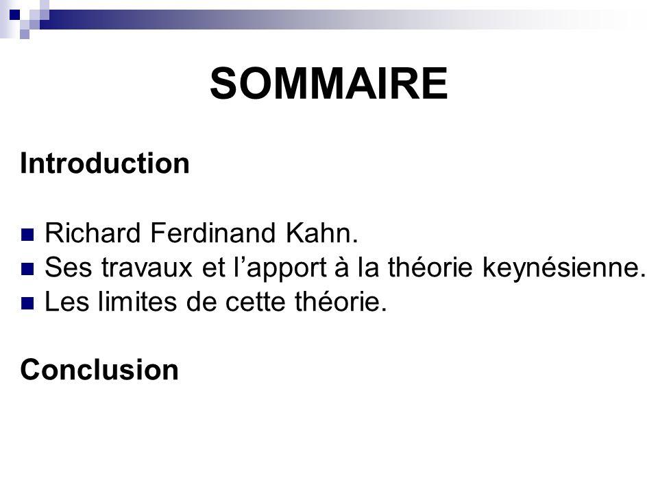 I.Richard Ferdinand Kahn.