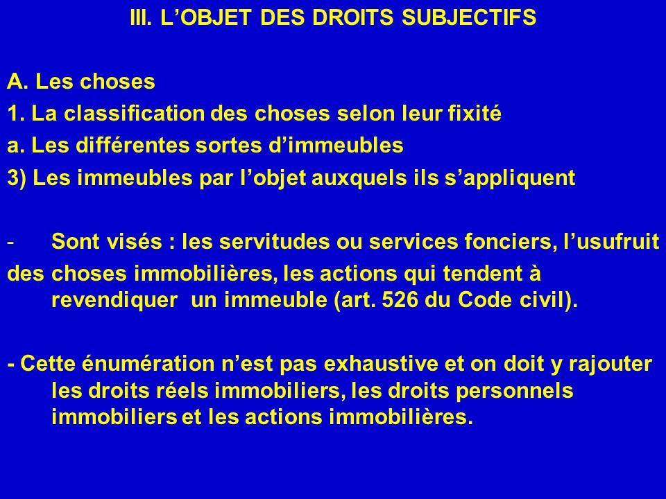 IV.LES SOURCES DES DROITS SUBJECTIFS A. Les actes juridiques c.