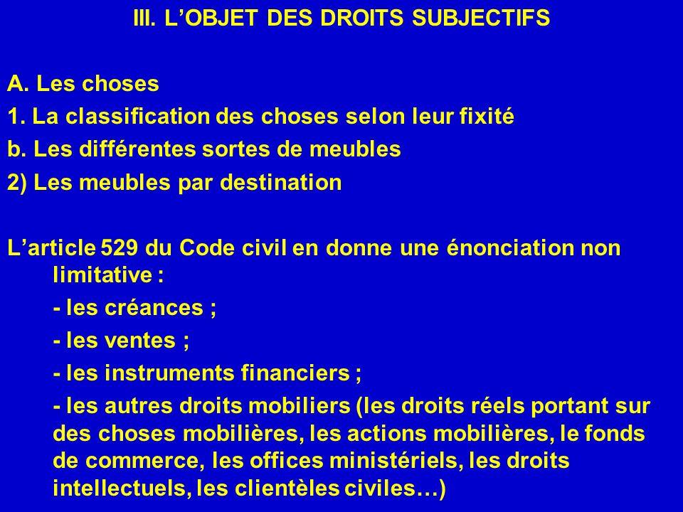 V.LA PREUVE DES DROITS SUBJECTIFS A. Les principes fondamentaux de la preuve 1.