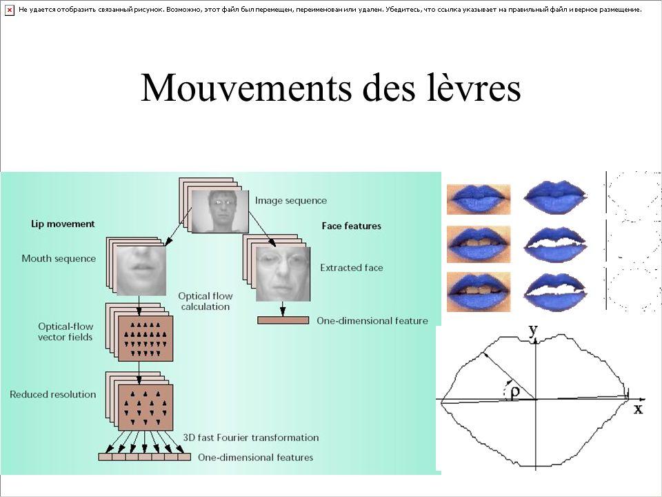 Mouvements des lèvres