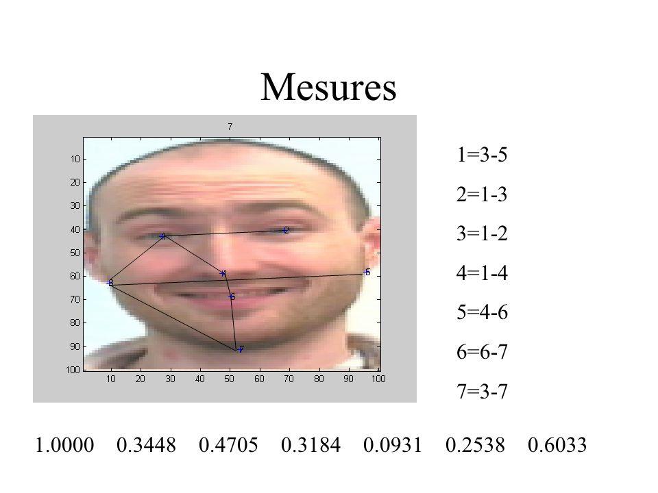 Mesures 1.0000 0.3448 0.4705 0.3184 0.0931 0.2538 0.6033 1=3-5 2=1-3 3=1-2 4=1-4 5=4-6 6=6-7 7=3-7