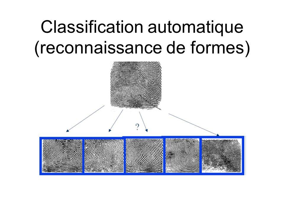 Classification automatique (reconnaissance de formes)