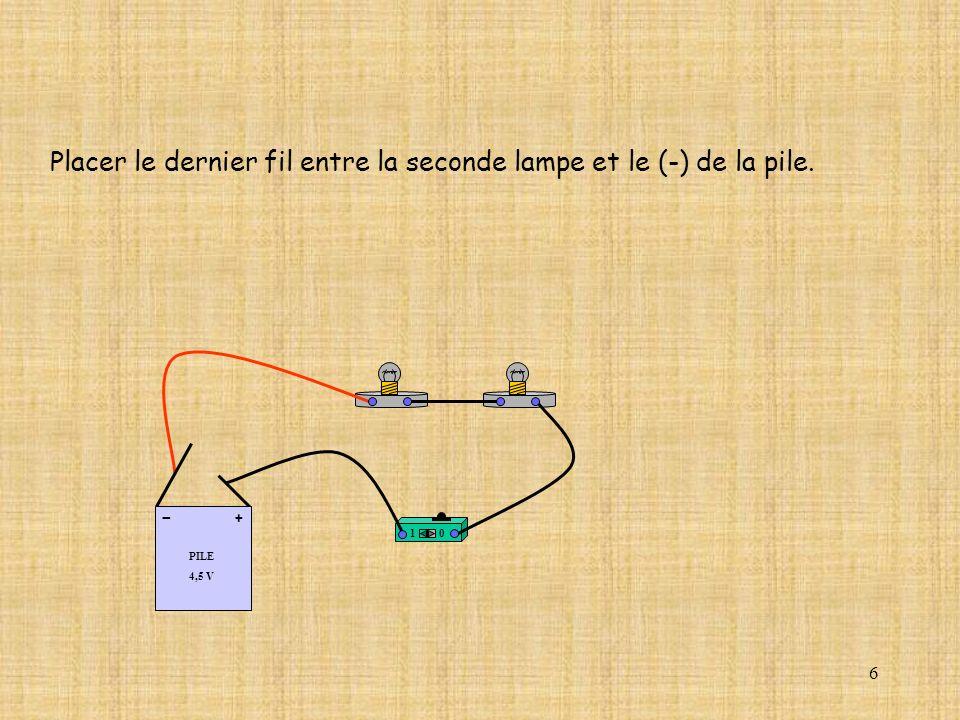 17 10 A Com mA DC A OffOn 10A 2A 200 20 V 2 V AC mA AC V DC 2M 20k 2k 200 0.2 2 200 20 2 0.2 2 20 200 Et ressortir par la borne COM.