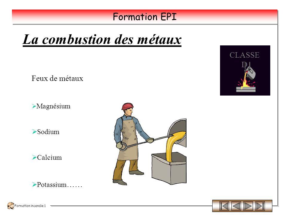 Formation incendie 1 Formation EPI Le Domaine dinflammabilité Limite Inférieure Inflammabilité Limite Supérieure Inflammabilité DOMAINE DINFLAMMABILTE 100% de combustible 0% de combustible 100% de comburant 0% de comburant