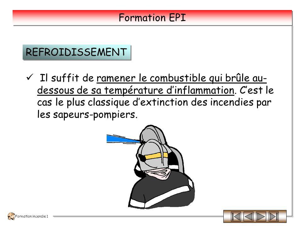 Formation incendie 1 Formation EPI Dispersion.Soufflage.