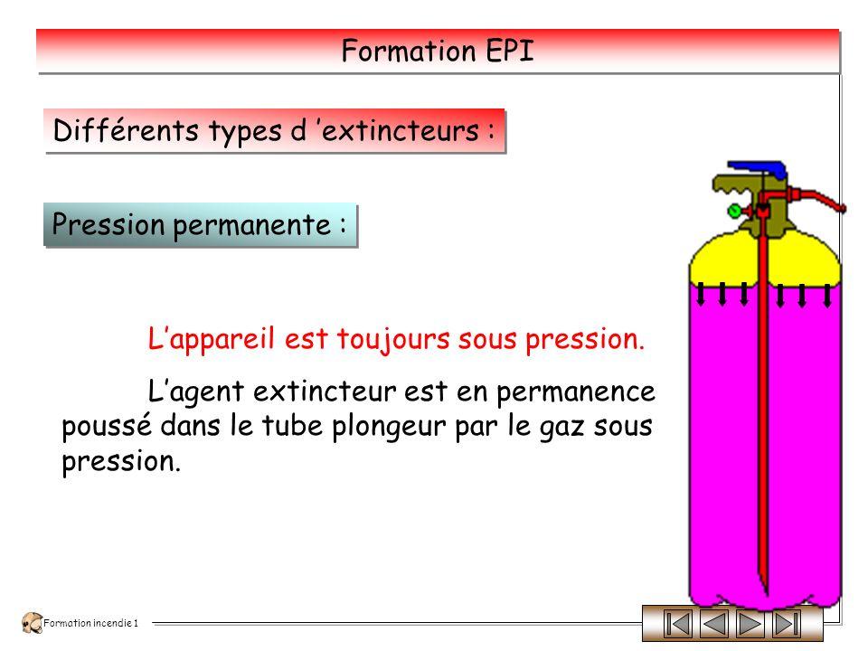 Formation incendie 1 Formation EPI 9 kg poudre ABC 1.