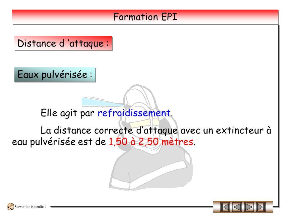 Formation incendie 1 Formation EPI Lappareil est en pression permanente.