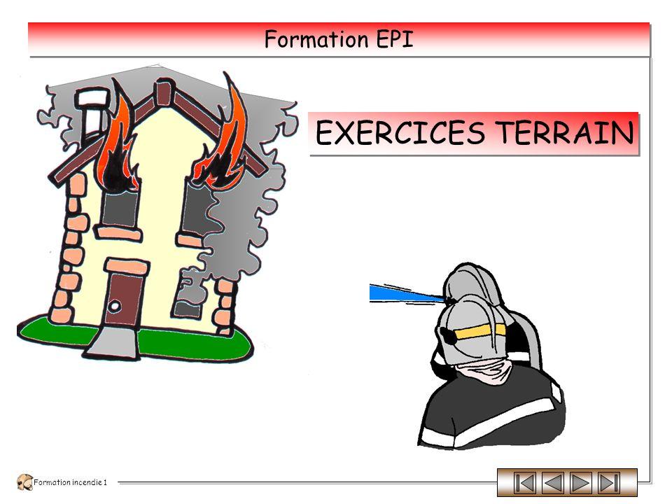 Formation incendie 1 Formation EPI UN EXTINCTEUR UTILISE, MÊME PARTIELLEMENT, DOIT ÊTRE IMMEDIATEMENT RECHARGE ET VERIFIE.