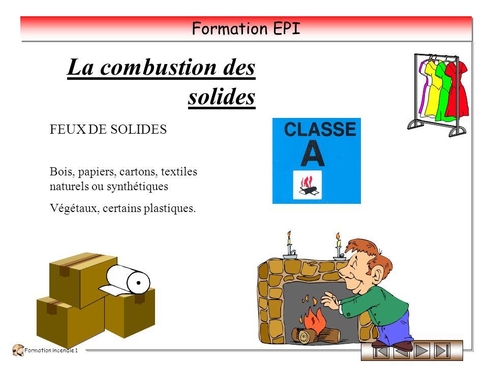Formation incendie 1 Formation EPI Les classes de feux CLASSE D