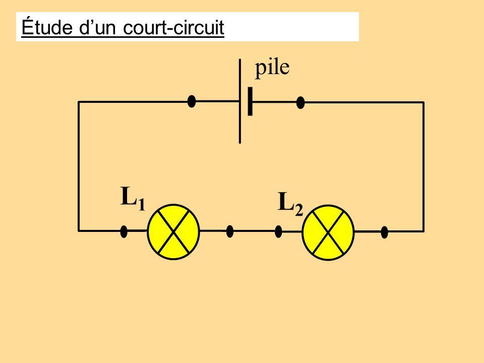 L1L1 L2L2 pile Étude dun court-circuit