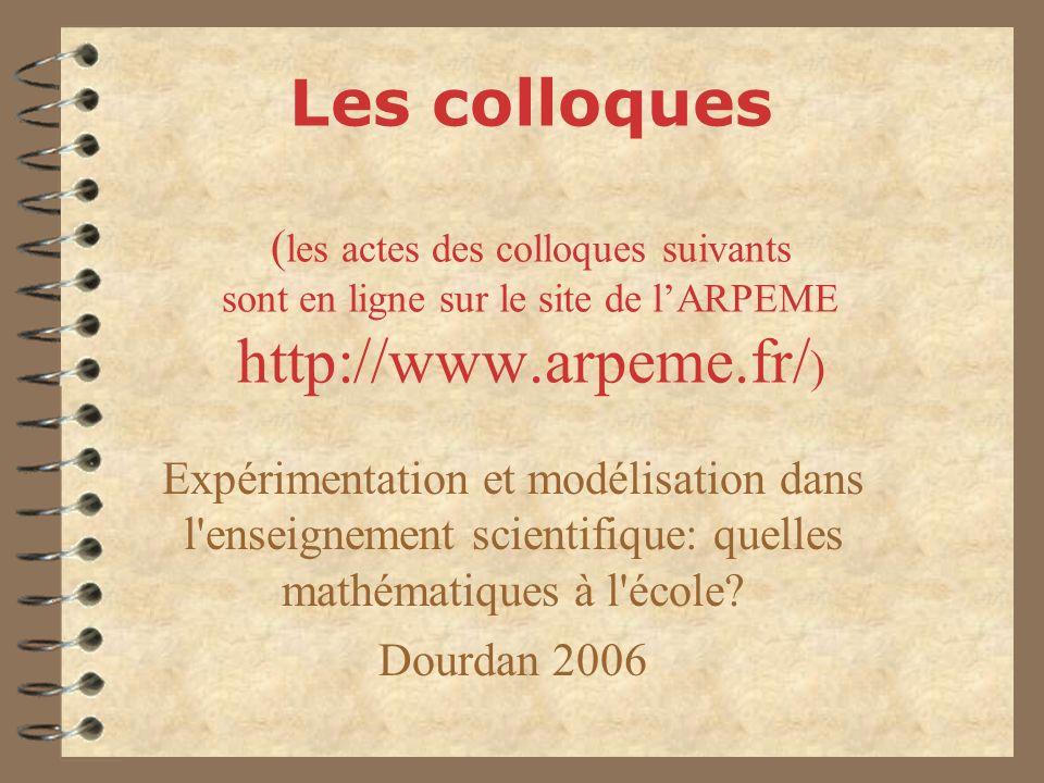 Enseigner les mathématiques en France, en Europe et ailleurs Strasbourg 2005 Quelles mathématiques faire vivre à l école.