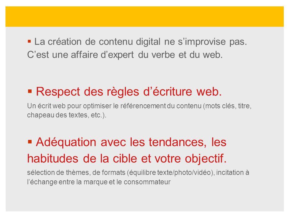 La création de contenu digital ne simprovise pas. Cest une affaire dexpert du verbe et du web. Respect des règles décriture web. Un écrit web pour opt