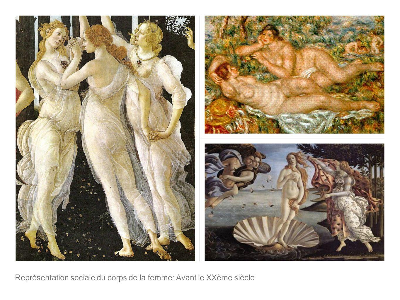 Représentation sociale du corps de la femme: Avant le XXème siècle