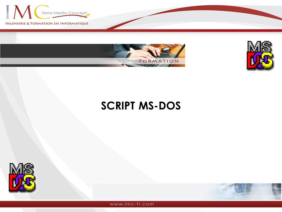 SCRIPT MS-DOS