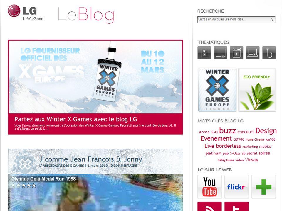 Blog LG : www.lgblog.fr