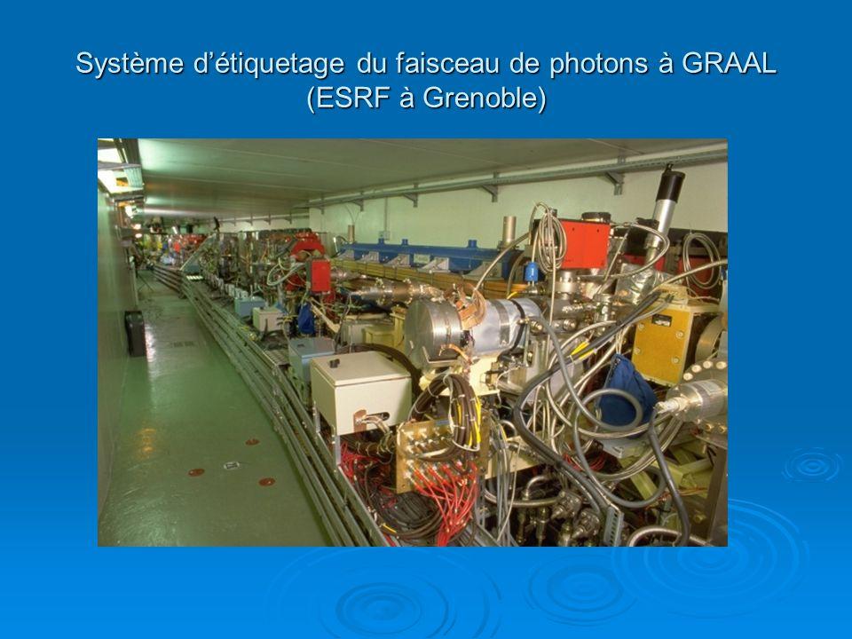 Système détiquetage du faisceau de photons à GRAAL (ESRF à Grenoble)