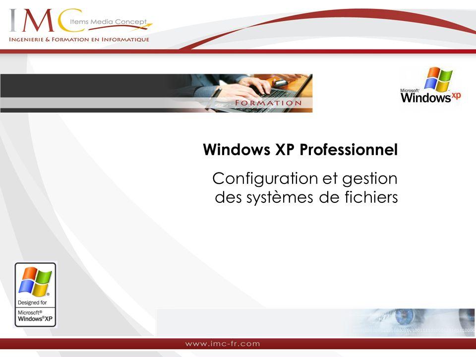Le système de fichiers NTFS est un système de fichiers qui est disponible sur Windows NT, Windows 2000 et Windows XP Professionnel.