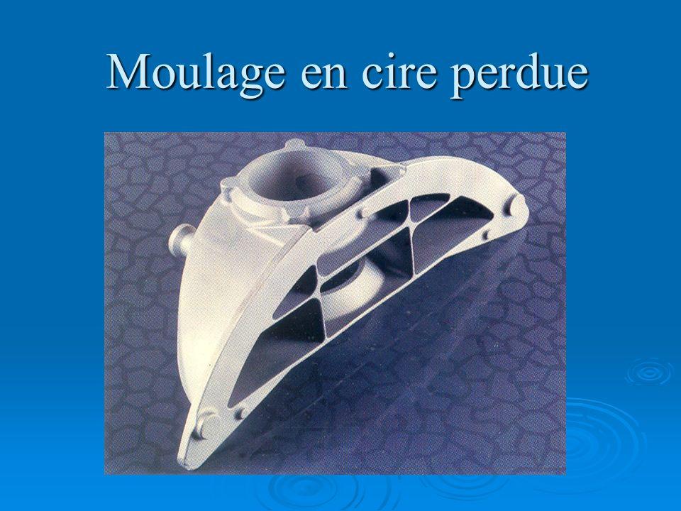 Moulage avec modèle gazéifiable (lost foam) 5 Lalliage est coulé dans le moule ce qui sublime le modèle en polystyrène.
