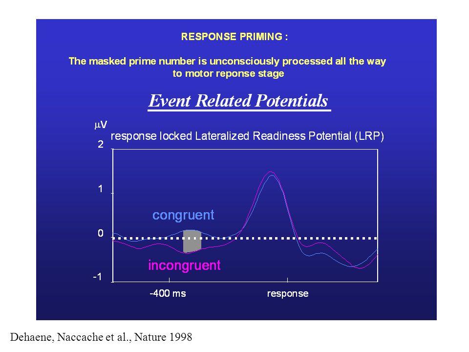 Dehaene, Naccache et al., Nature 1998