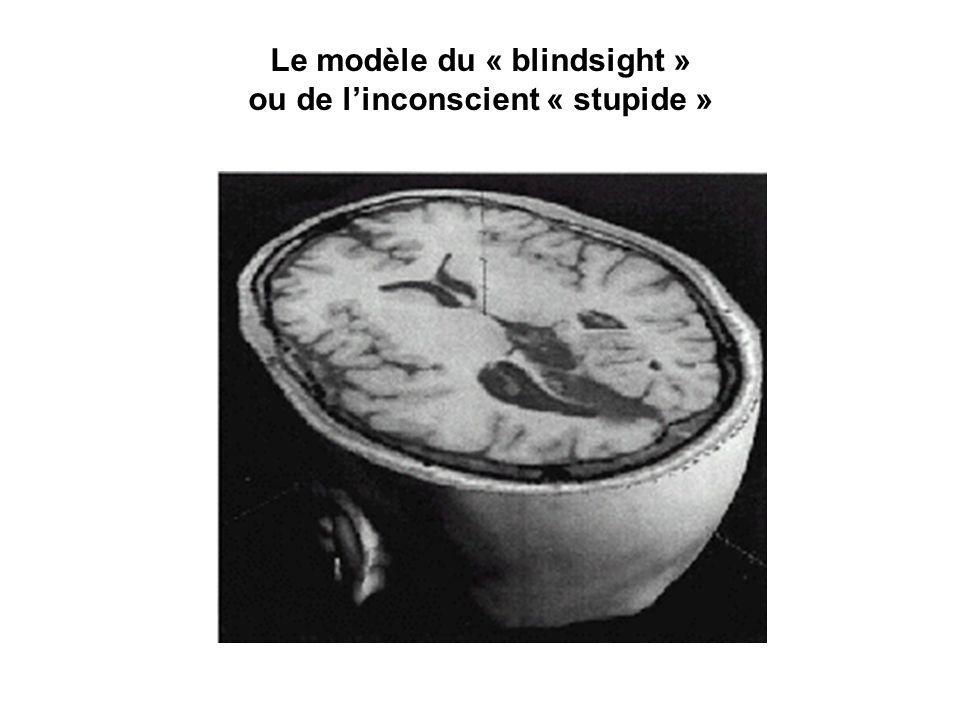 Le modèle du « blindsight » ou de linconscient « stupide »