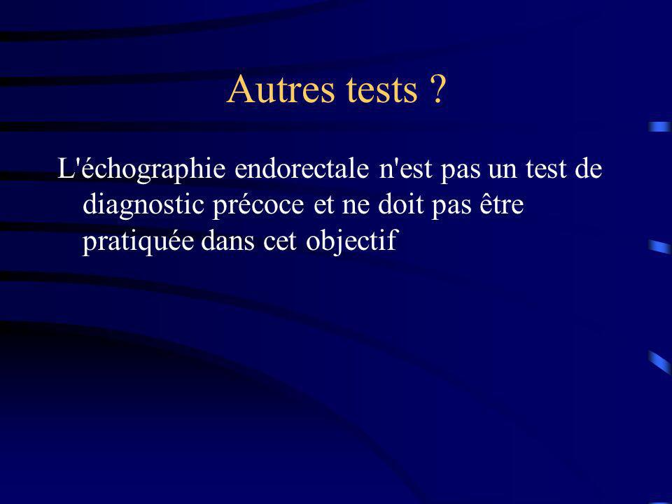 Autres tests .