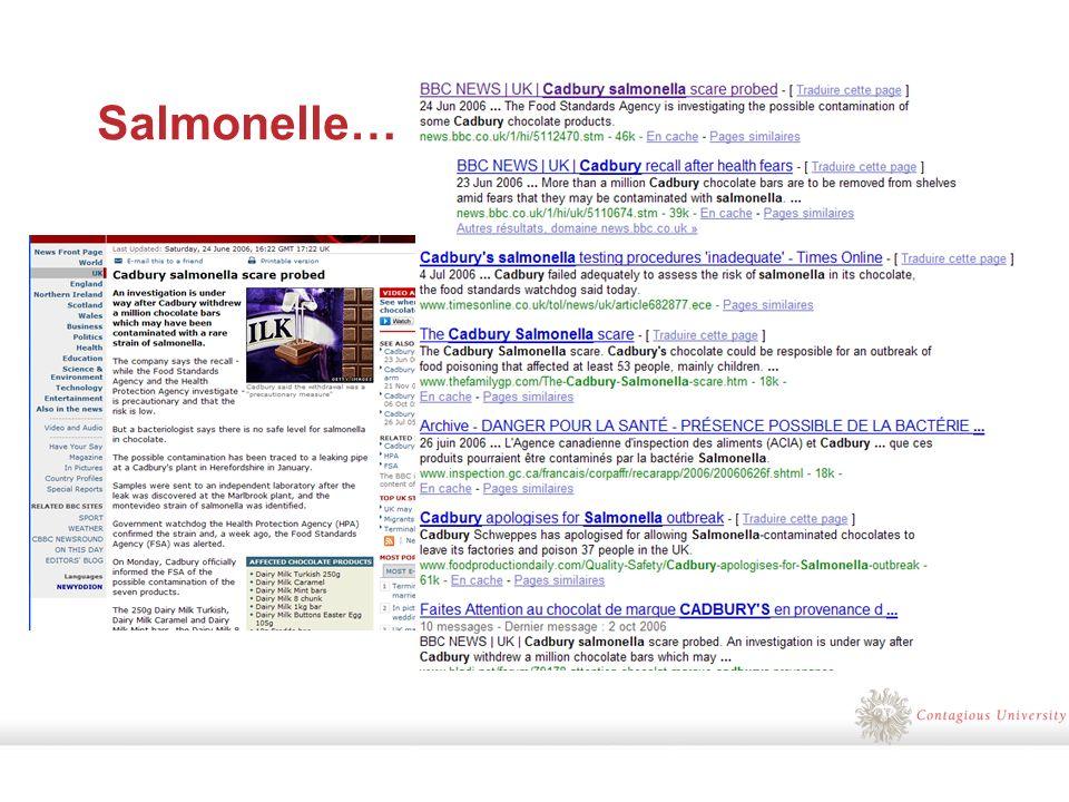 Salmonelle…