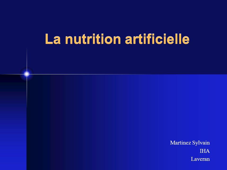 Plan Introduction/ rappels Principes de la nutrition entérale Principes de la nutrition parentérale
