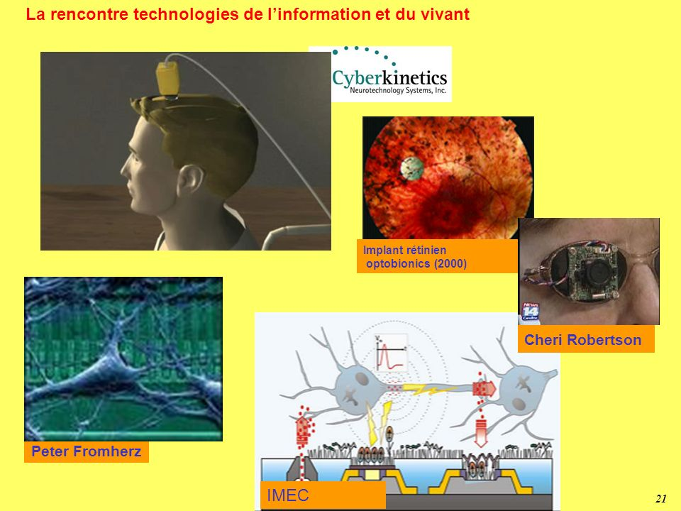 20 Nanomédecine - Santé Vectorisation de médicaments – Encapsulation, furtivité – Reconnaissance moléculaire Instrumentation et analyses -Reconnaissan