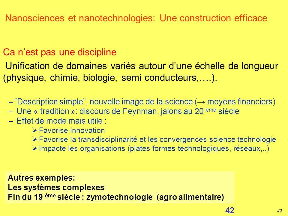 41 Que sont vraiment les nanotechnologies ?