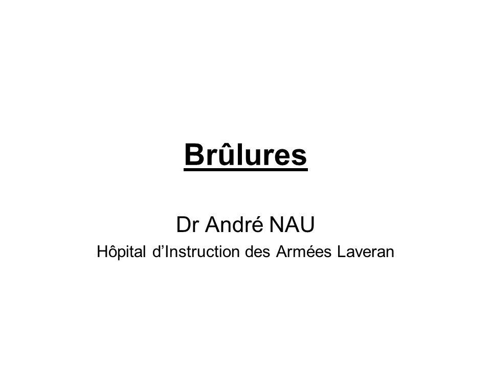 Brûlures Dr André NAU Hôpital dInstruction des Armées Laveran