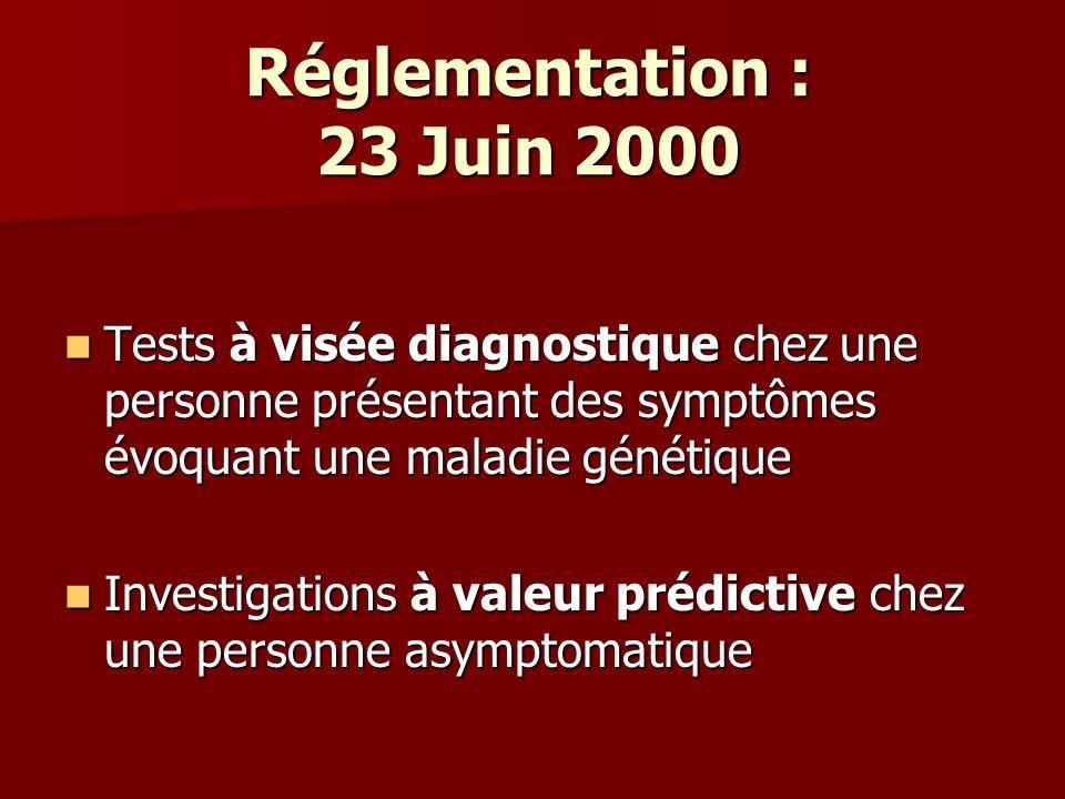 Consentement pour un diagnostic présymptomatique de (nom de la maladie) Je soussigné(e) M….demeurant à ….