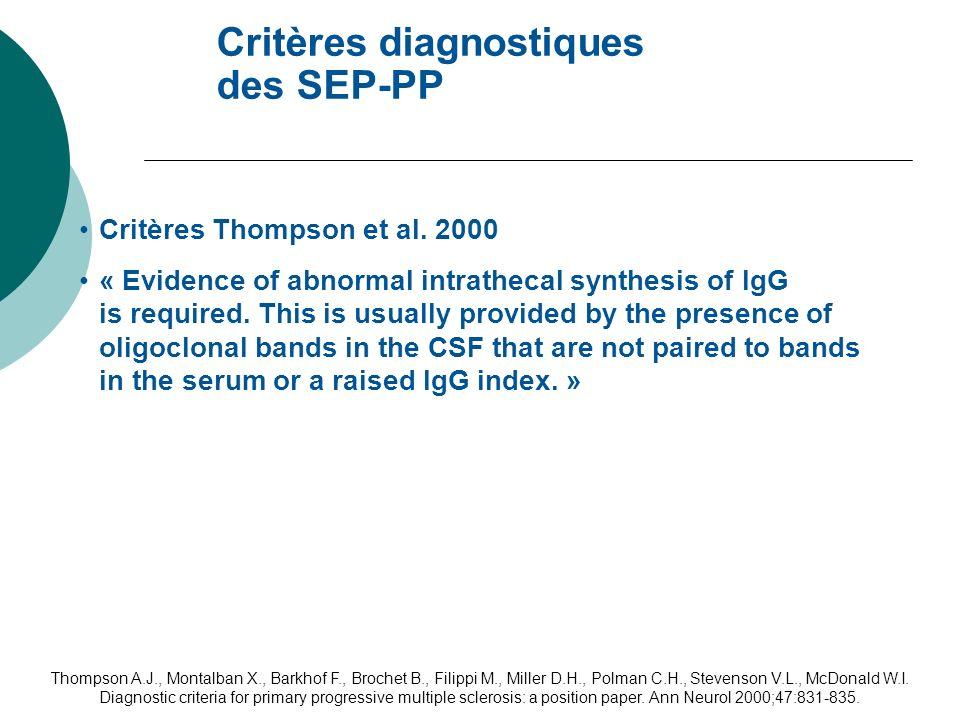 Thompson A.J., Montalban X., Barkhof F., Brochet B., Filippi M., Miller D.H., Polman C.H., Stevenson V.L., McDonald W.I. Diagnostic criteria for prima