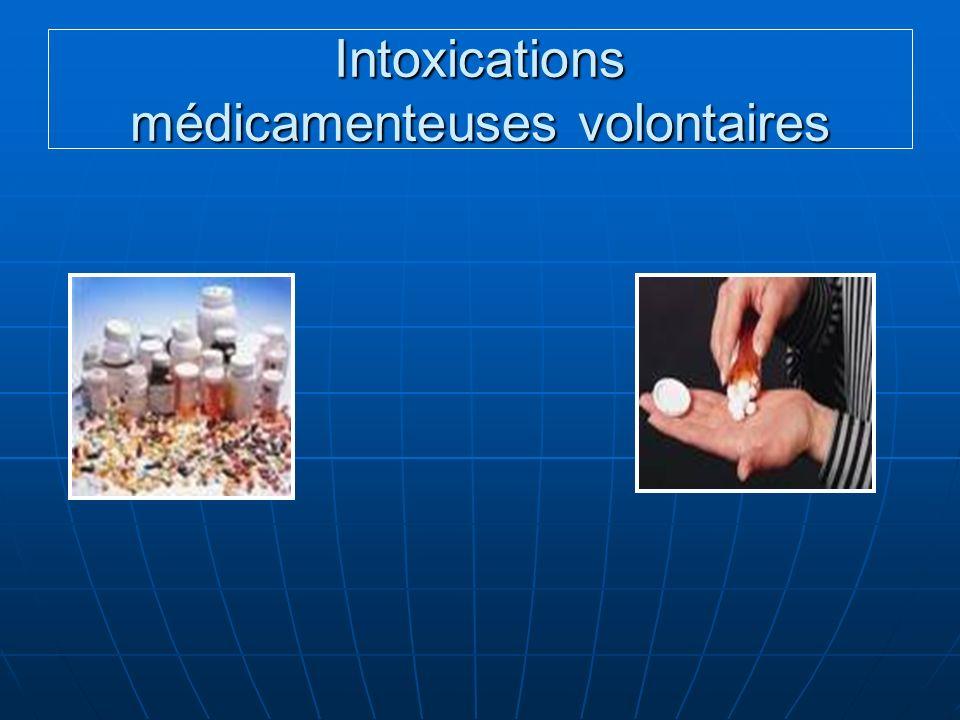Intoxications médicamenteuses volontaires