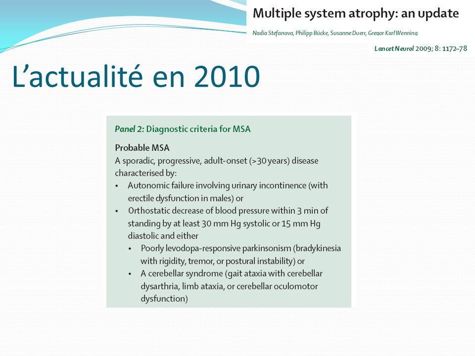 Lactualité en 2010